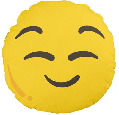 Pduszka jasiek Relaxed EMOJI EMOTICON EMOTKA pod-3110