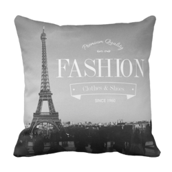 Poduszka PARIS FASHION retro vintage pod-6141